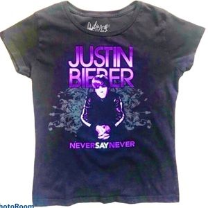 3/$20JUSTIN BIEBER Never Say Never Black …